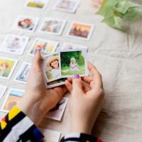 Mini Kare Kart Baskı - 105 Adet - 6x6